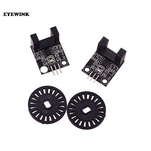 2SET HC-020K Double Speed Measuring Module to Test Motor's Rotational Speed with Photoelectric Encoders kit