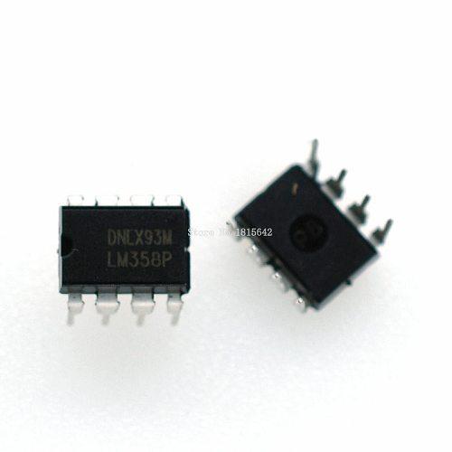 10PCS/Lot LM358 LM358P HA17358 LM358N DIP-8 Original New IC Chip