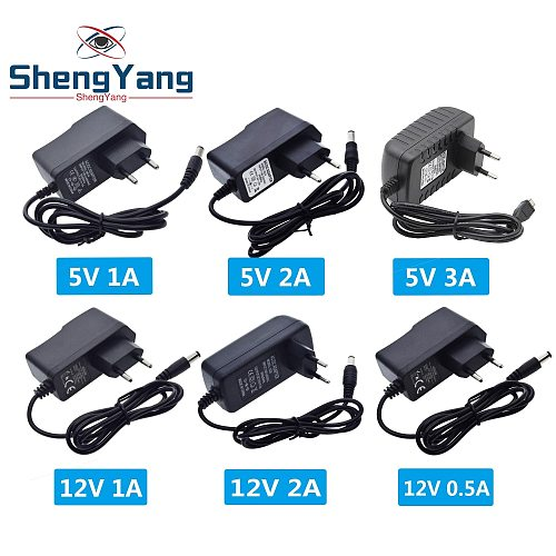 100-240V AC to DC Power Adapter Supply Charger adapter 5V 9V 12V 1A 2A 3A 0.5A EU Plug 5.5mm x 2.5mm Plug Micro USB for Arduino