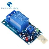 TZT HR202 DC 5V 1 Channal 1CH Humidity Sensor Switch Relay Module Control Board Humidity Sensor Module for Arduino