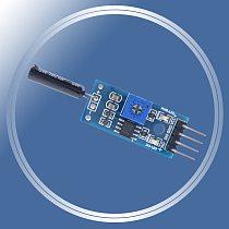 Normally open shock sensor module for arduino vibration sensor module alarm module