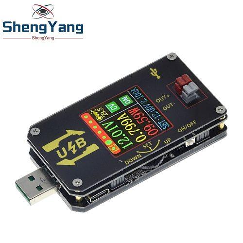 XY-UDP Digital USB DC DC Converter CC CV 0.6-30V 5V 9V 12V 24V 2A 15W Power Module Desktop Adjustable Regulated power supply