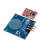5pcs/lot TTP223B 1 channel Jog digital touch sensor capacitive touch touch switch modules Accessories for arduino