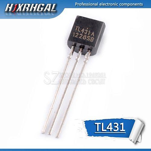 10pcs TL431 TO-92 TL431A 431 TO92 Transistor