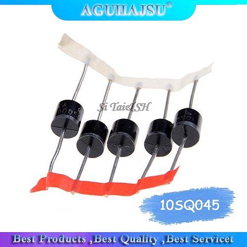 10PCS 10SQ045 10A 45V DIP Schottky  Special High  Schottky Diode for Solar Energy New Original