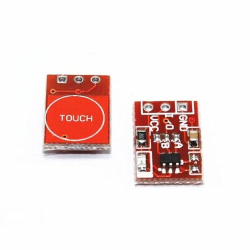 5pcs TTP223 touch button module / self-locking / jog / capacitive / switch / single modification