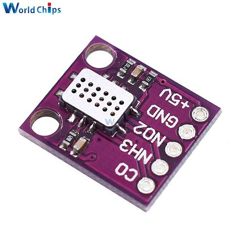 MICS-6814 Air Quality Sensor Module CO VOC NH3 Nitrogen Oxygen Gas Detection Sensor Board
