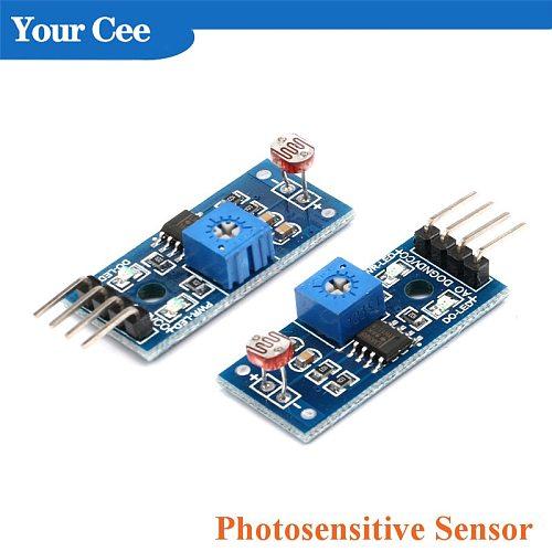 Optical Sensitive Resistance Light Detection Photosensitive Sensor Module for arduino 4pin DIY Kit