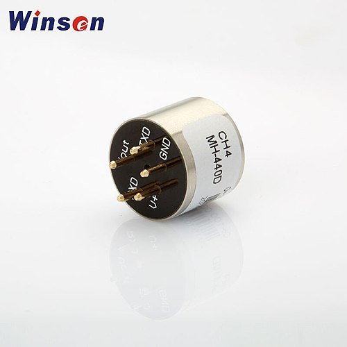 2pcs Winsen MH-440D NDIR Infrared CH4 Sensor High Sensitivity & Resolution UART, Analog Voltage Signal Low Power Consumption