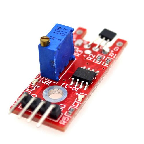 5pcs/lot KY-024 Linear Magnetic Hall Sensor Board Switch Speed Counting Hall Sensors Module For Arduino Diy KY024 Hall Sensor