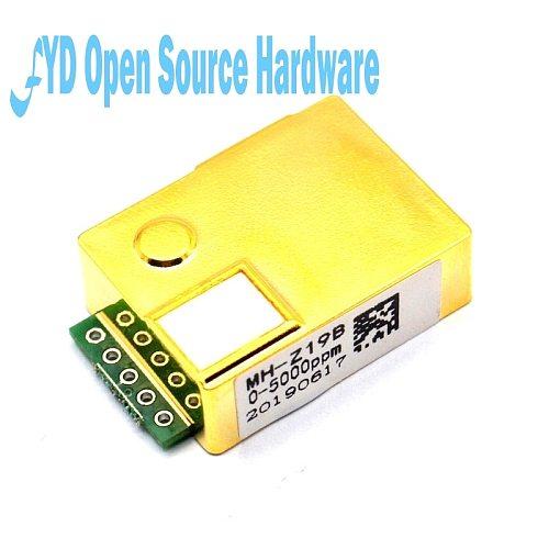 1pcs MH-Z19  MH-Z19B  MH-Z19C MH-Z19Z NDIR CO2 Sensor Module infrared co2 sensor 0-5000ppm