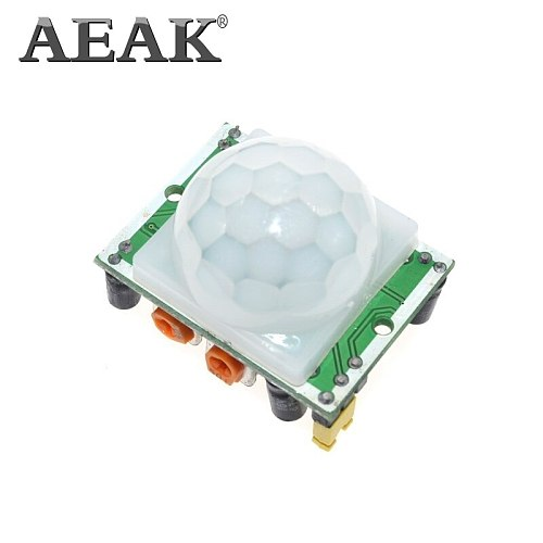 AEAK HC-SR501 Adjust Infrared IR Pyroelectric Infrared PIR module Motion Sensor Detector Module We are the manufacturer