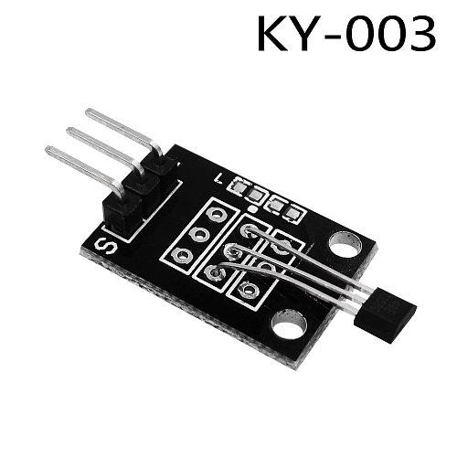 KY-003 3pin Hall Magnetic Sensor Module for Diy Starter Kit KY003 1PCS