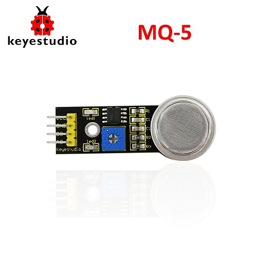 Free shipping! Keyestudio MQ-5 LPG Gas City gas sensor module for arduino