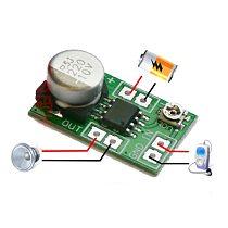 Mini LM386 power amplifier board / amplifier / starfinder sound module / adjustable volume low power consumption 5 ~ 15V