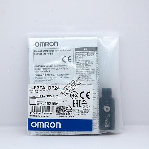 E3FA-DP11/12/13/14 E3FA-DP21/22/23/24/25  OMRON 100% New & Original Photoelectric Sensor