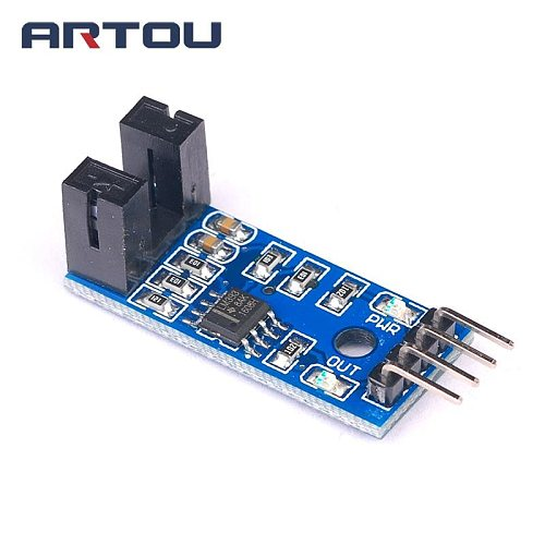 1pcs Speed Sensor Module Tacho Sensor Slot-type Optocoupler Tacho-generator Counter Module for arduino Diy Kit