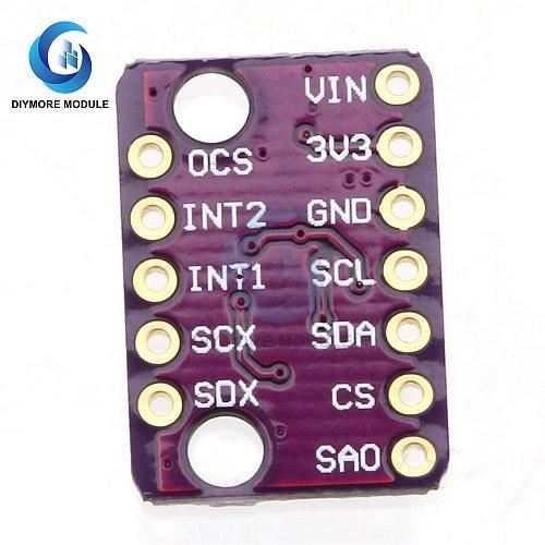 LSM6DS3 3D Digital Accelerometer Gyroscope Sensor Module SPI Serial Interface Embedded Temperature Sensor For Arduino/Pedometer