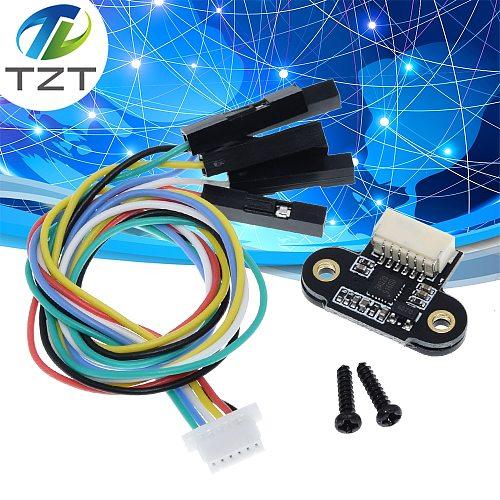 Laser Range Sensor Module TOF10120 10-180cm Distance Sensor RS232 Interface UART I2C IIC Output 3-5V for Arduino With Cable