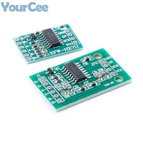 HX711 Weighing Sensor Module AD Weight Pressure Sensor Mini Standard Dual-Channel Dedicated 24-bit Precision Module