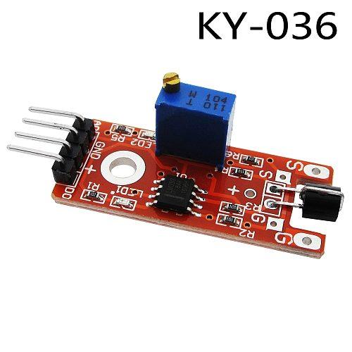 1pcs Metal touch sensor module KY-036 Human Body Touch Sensor 100%
