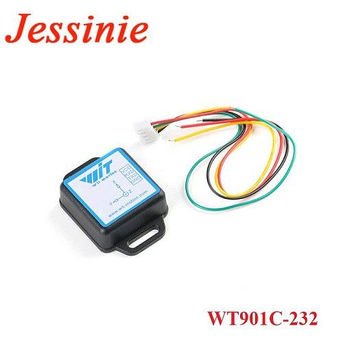 WT901C-232/TTL Nine-axis MPU6050 Accelerometer Sensor Sensor Electronic Gyroscope Attitude Angle Sensor 3.3-5V