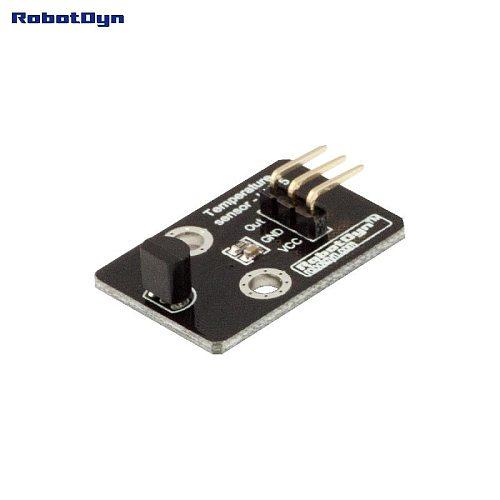 Temperature sensor - LM35