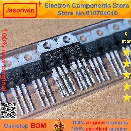 100% nuevo 50 unids/lote original diode STPS60H100CT STPS60H100  60CPQ150 TO-220F  60A100V  Transistor