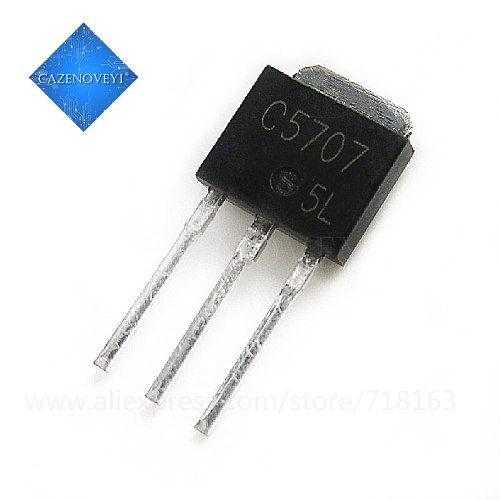 20pcs/lot 2SC5707 TO-251 C5707 TO251 Transistor In Stock
