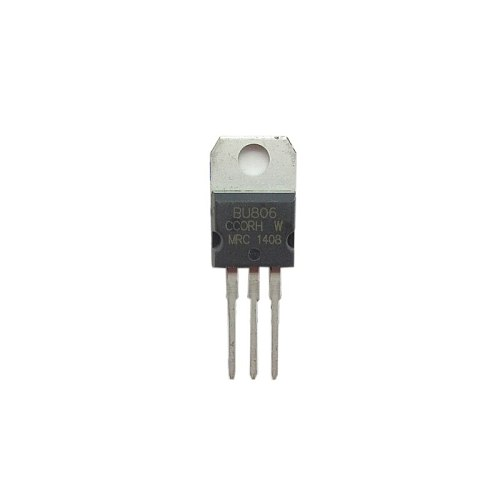 10pcs/lot Transistor BU806 NPN Darlington 8V/200V/60W TO-220