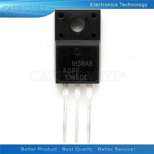 10pcs/lot FQPF10N60C TO-220 10N60C 10N60 TO220 FQPF10N60 new MOS FET transistor In Stock