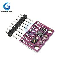 CCS811 HDC1080 Gas Sensor Module Carbon Dioxide eCO2 TVOC Air Quality Detection Monitor I2C IIC For Arduino CJMCU8118