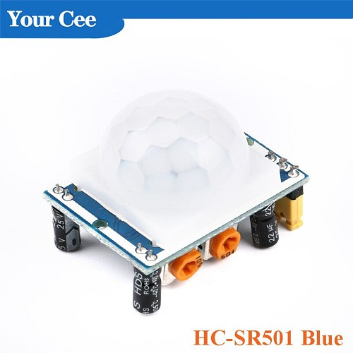 HC-SR501 HC-SR505 AM312 RE200B Adjust IR Pyroelectric Infrared Mini PIR Module Motion Sensor Detector Module Bracket for Arduino