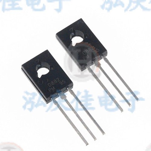 B882 TO126 2SB882  To-126  3A/40V NPN Transistor Triode 100%NEW 20PCS IC