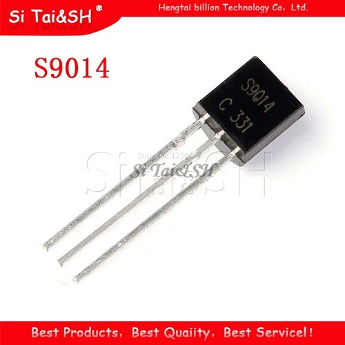 100PCS S9014 TO-92 9014 TO92 new triode transistor