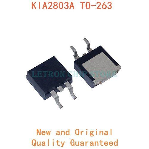 10PCS KIA2803A TO-263 KIA2803 TO263 D2PAK 150A 30V SMD MOSFET new and original IC Chipset