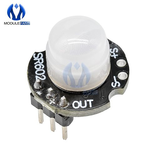 MINI Motion Sensor Detector Module 3PIN SR602 Pyroelectric Infrared PIR kit sensory switch Bracket For Arduino 3pin