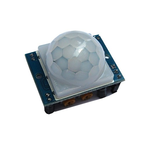1PCS  HC-SR501  Human Body Infrared Sensor Module Pyroelectric  Green And Blue Board