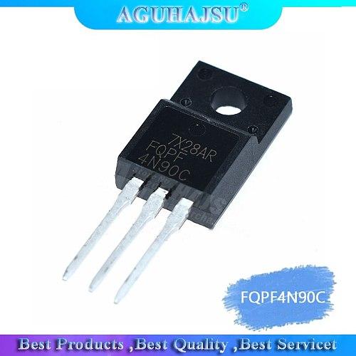 10PCS FQPF4N90C TO-220F 4N90C 4N90 MOSFET 900V N-Ch Q-FET advance C-Series New original