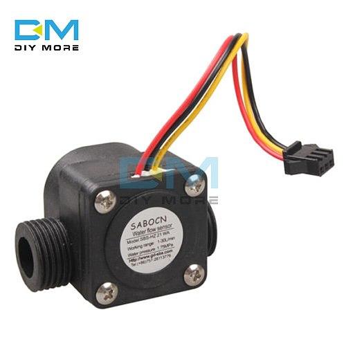 Water Flow Sensor Fluid Flow Meter Switch Counter 1-30L/min waterproof explosion-proof water flow sensor for water heater