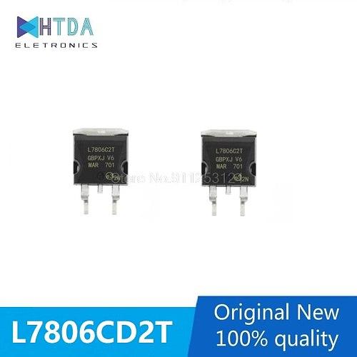 5pcs/lot TO-263 L7806CD2T L7806C2T In Stock