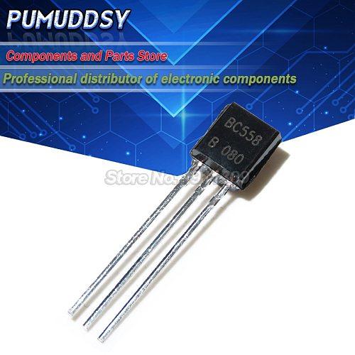 50PCS BC558 BC558B Transistor TO-92 IC