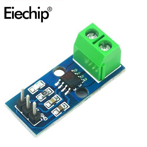 5pcs/Lot ACS712 Hall Current Sensor Module 5A 20A 30A ACS712ELC Range Hall Current Sensor Modules For Arduino