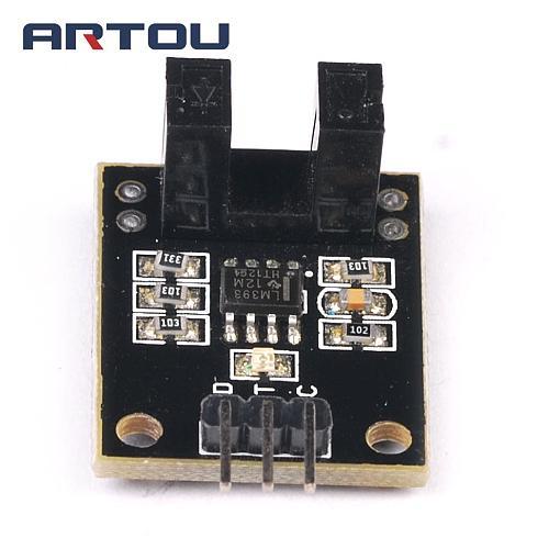 1PCS Beam Photoelectric Sensor With Infrared Sensor Module Counting Sensor Module Encoders to Test Motor's Rotational Speed
