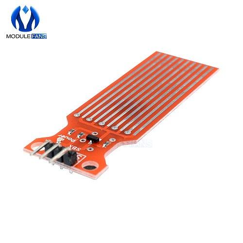 10PCS Rain Water Level Sensor Module Depth Of Detection Liquid Surface Height For Arduino DC 3v-5V 20mA