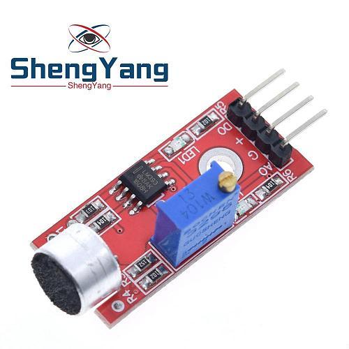 1PCS ShengYang High Sensitivity Sound Microphone Sensor Detection Module For arduino AVR PIC KY-037