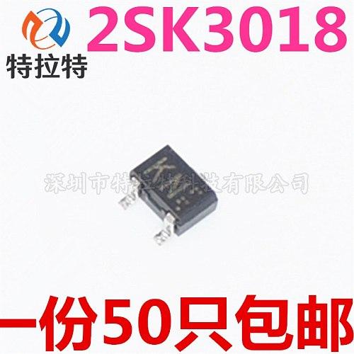 100PCs Field Effect Transistor 2sk3018 KN A/30V PN SOT-23 Triode