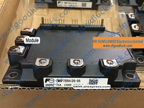7MBP75RA120-05 IGBT Intelligent Power Module 1200V 75A 22-Pin Weight:440g Free Shipping