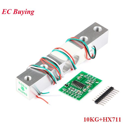 10KG Digital Load Cell Weight Sensor + HX711 Weighing Sensors Ad Module for Arduino