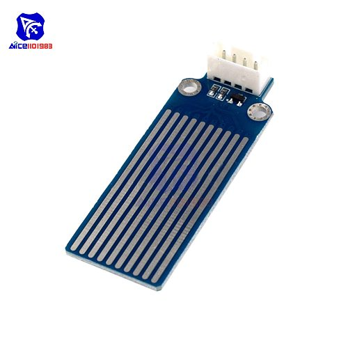 diymore DC 3.3V-5V Raindrop Water Level Detection Sensor Module PCB Board for Arduino